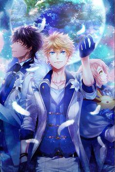 アイチュウ F∞F Ensemble Stars, Cute Anime Guys, Pugs, Manga, Fictional Characters, Anime Boys, Manga Anime, Manga Comics, Fantasy Characters