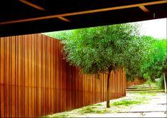 Parque de la Arboleda, Begur, Gerona. RCR Arquitectes. (2003-2005)