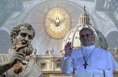 Tú, eres Pedro y sobre esta piedra edificaré mi Iglesia.