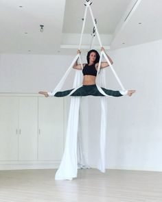 """3,475 Likes, 52 Comments - Sarah (@sarah_polefitdubai) on Instagram: """"Feels so good to dance on the silks again ... had to try and go faster to fit my routine into one…"""""""
