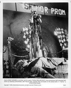 Sissy Spacek and William Katt in Carrie (1976)