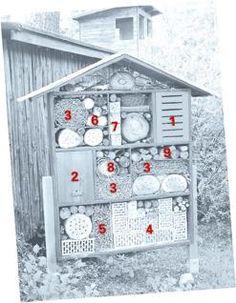 construire une cabane à insectes