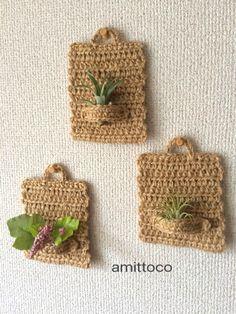 World Turtle Succulent Holder Free Croch - Diy Crafts - Best Knitting Diy Crafts Crochet, Crochet Projects, Diy And Crafts, Crochet Decoration, Crochet Home Decor, Crochet Flower Patterns, Crochet Flowers, Crochet Plant Hanger, Crochet Wall Hangings