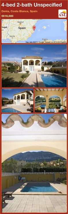 Unspecified for Sale in Denia, Costa Blanca, Spain with 4 bedrooms, 2 bathrooms - A Spanish Life Double Bedroom, Two Bedroom, Large Laundry Rooms, Three Floor, Central Heating, Storage Room, Ground Floor, Terrace, Costa