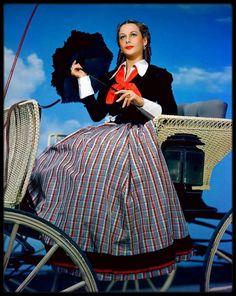 Frances Dee, Marlene Dietrich, Hedy Lamarr and Dorothy Lamour color transparencies Love Vintage, Vintage Glamour, Jean Harlow, Rita Hayworth, Marilyn Monroe, Long Plaid Skirt, Dorothy Lamour, Kim Novak, Vestidos