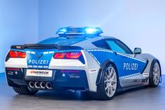 German Polizei Will Be Driving An American Tuned Corvette A surprising news came out of 2015 Essen Motor Show. German Federal Ministry of Transport has ordered a tuned Corvette with Polizei livery. The tuning house responsible for it is the TIKT Performance. The project is called: Tune It! Safe! Corvette.  The purpose of this project was to promote...