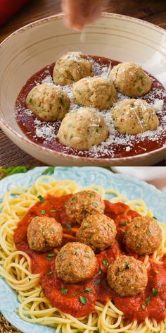 Nutritious Snack Tips For Equally Young Ones And Adults These Turkey Meatballs Are One Of Our Favorite Dinners So Delicious Turkey Meat Recipes, Baked Meat Recipes, Ground Meat Recipes, Meat Recipes For Dinner, Healthy Meat Recipes, Chicken Recipes, Cooking Recipes, Meatball Recipes, Meat Appetizers