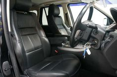 2008 Range Rover Sport 3.6 TDV8 HSE estate. Black with black leather interior. Rear entertainment and sat nav.