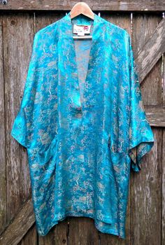 Peony Shanghai China Bathrobe/Vintage Satin Robe/Floral Bathrobe/Asian…