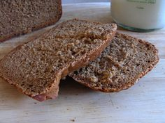 I love Borodinskiy Bread - a dark rye Russian bread with dense texture and tangy taste. Finally I figured out the secret ingredient to make it taste authentic.