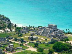 Tulum, Mexico. Mayan Ruins
