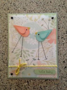 Baby Shower Card, Stampin' Up