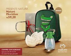 Presente Natura Naturé Mocinhos - Colônia Mocinhos + Sabonete em Barra + Mochila + Embalagem Desmontada (COD. PROD. 56581)  por R$ 59,20   http://rede.natura.net/espaco/adrianacosmeticos/presente-natura-nature-mocinhos-colonia-mocinhos-sabonete-em-barra-mochila-embalagem-desmontada-56581?_requestid=1279933