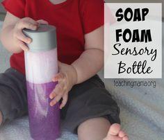 Soap Foam Sensory Bottle