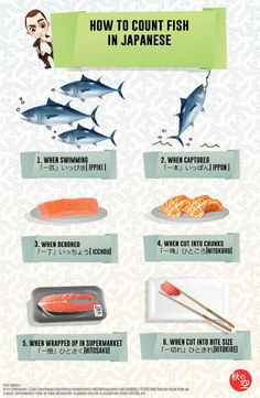 How to Count Fish in Japanese