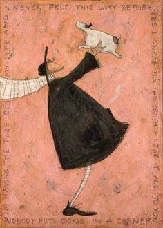 Nobody Puts Doris In A Corner | Sam Toft added to my BOUGHT COLLECTION ..a wonderful birthday present.