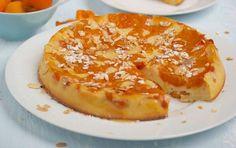 Gâteau léger abricots2