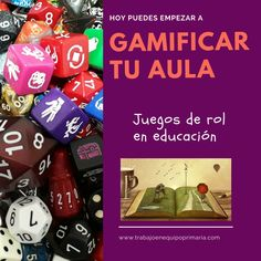 Serie de post dedicados a gamificar el aula mediante el uso de los juegos de rol. Teaching Tools, Teaching Resources, Primary School Education, Breakout Edu, Flipped Classroom, Spanish Language Learning, Bible For Kids, Escape Room, New Tricks