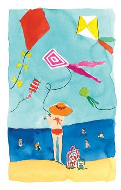 Bella Foster for Kate Spade. What a lovely summer image!