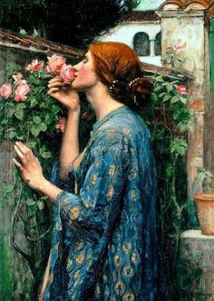 John William Waterhouse. The Soul of the Rose. My absolute favorite!
