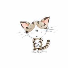 A little doodle cat
