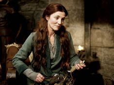 "Michelle Fairley as Catelyn Stark in ""Game of Thrones"" (2011)"