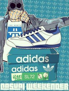 Nice bit of Adiart. Football Casuals, Football Fashion, Ultras Football, Cool Trainers, Adidas Og, Shoes Wallpaper, Stoner Art, Vintage Adidas, Football Fans