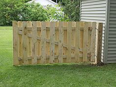 Build An 8-Foot Long Gate For A Backyard Fence - Wide Enough To Drive A Car Through