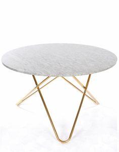 O Dining Table Marble | Artilleriet | Inredning Göteborg