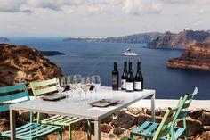95 euros for a wine tour in Santorini