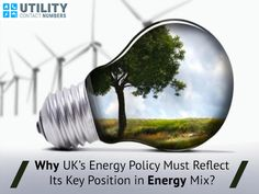 Why UK's Energy Policy Must Reflect Its Key Position in Energy Mix?  Among a large number of energy suppliers in the UK, Extra Energy is one of the newer energy suppliers who state they have a fresh attitude towards energy, providing exceptional cost savings which are passed onto their customers.