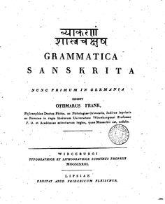 Grammatica Sanskrita