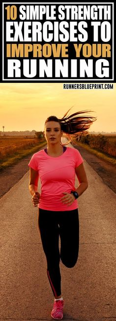 Looking to start strength training as a runner? Then this post is perfect for you. Here are the ten strength exercises every runner and athlete should incoporate into their workout routine. #strength #runners #exercises