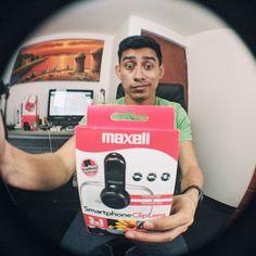 Ahora el lente #EyeFish Uno de los 3 lentes para celular que probé vídeo en el canal link en mi perfil #ClipLens #eMarketPerú