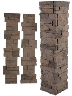 Give Your Pillar or Column the Look of Stone in Minutes! The pillars and columns located at the entry or around your home or business make a lasting first impression. However, all too often these statement pieces are left unimaginative and plain, but with our pillar panel kits you can improve the curb appeal of