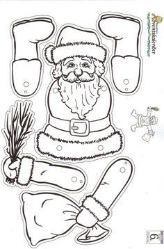 Weihnachtliche Bastelvorlagen image 9