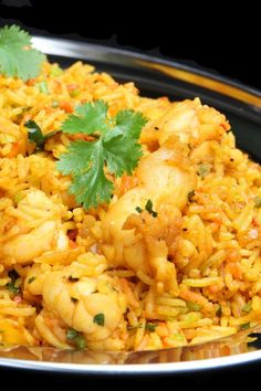 Curried Rice With Shrimp Recipe