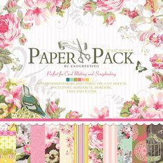 paper 伊和诺 日韩可爱手工折纸材料儿童DIY相册背景装饰纸缤纷创作集PS