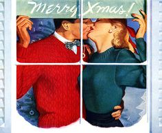 Christmas Kiss by Peter Frawley (1948)