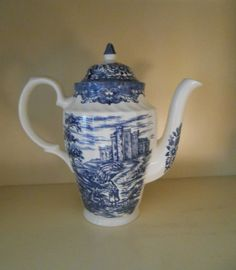 Vintage Blue and White Transfer Ware Olde by RememberingDiane, $48.00