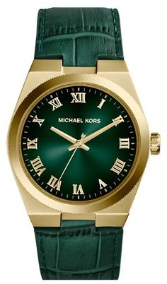 MICHAEL Michael Kors Michael Kors 'Channing' Leather Strap Watch, 38mm on shopstyle.com