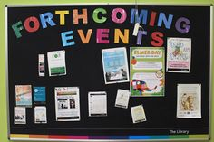 Longlevens Library events board