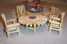 RE: Making Furniture Out of Wooden Clothespins