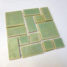 Savvy Squares Patina #123W from Mercury Mosaics for $70.00