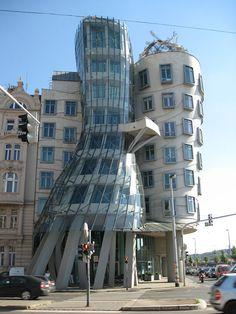Dancing Building in Prague. Gehry