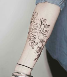 Loving these light line work tattoos