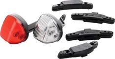Reelight SL100 Flashing Compact Generator Bicycle Headlight and Tail Light Set Reelight