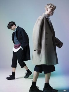 'Wearing Oversized' by Chiun-Kai Shih for GQ