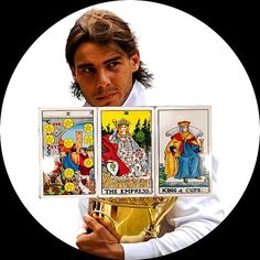 Today's Celebrity Birthday Reading for the 3rd of June 2015 goes out to @rafaelnadal ❤️ What an amazing draw of cards for you Rafael on your Birthday! The Ten of Pentacles stands for the ultimate in worldly and material success. Wealth and affluence are yours. You will reflect today on how your ventures are flourishing and may look at ways to continue the growth, maybe even establishing and planning methods that will ensure continued success. You will be spoilt today by going back to your…
