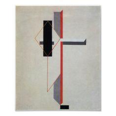 El Lissitzky: Proun, Russian Constructivism, USSR
